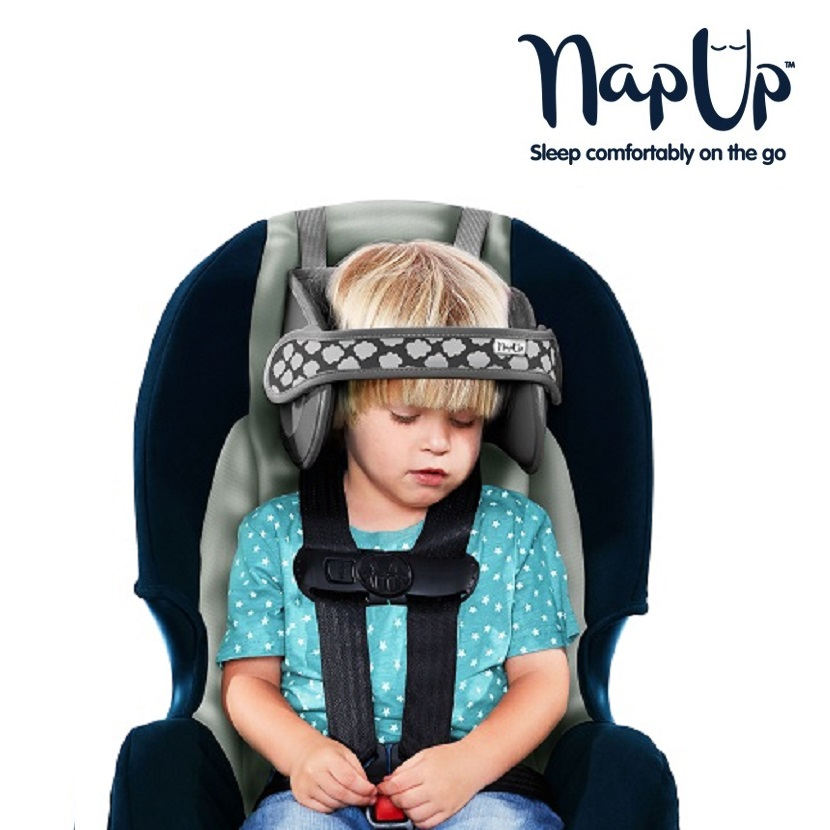 NapUp hovedstøtte til børn - Grå