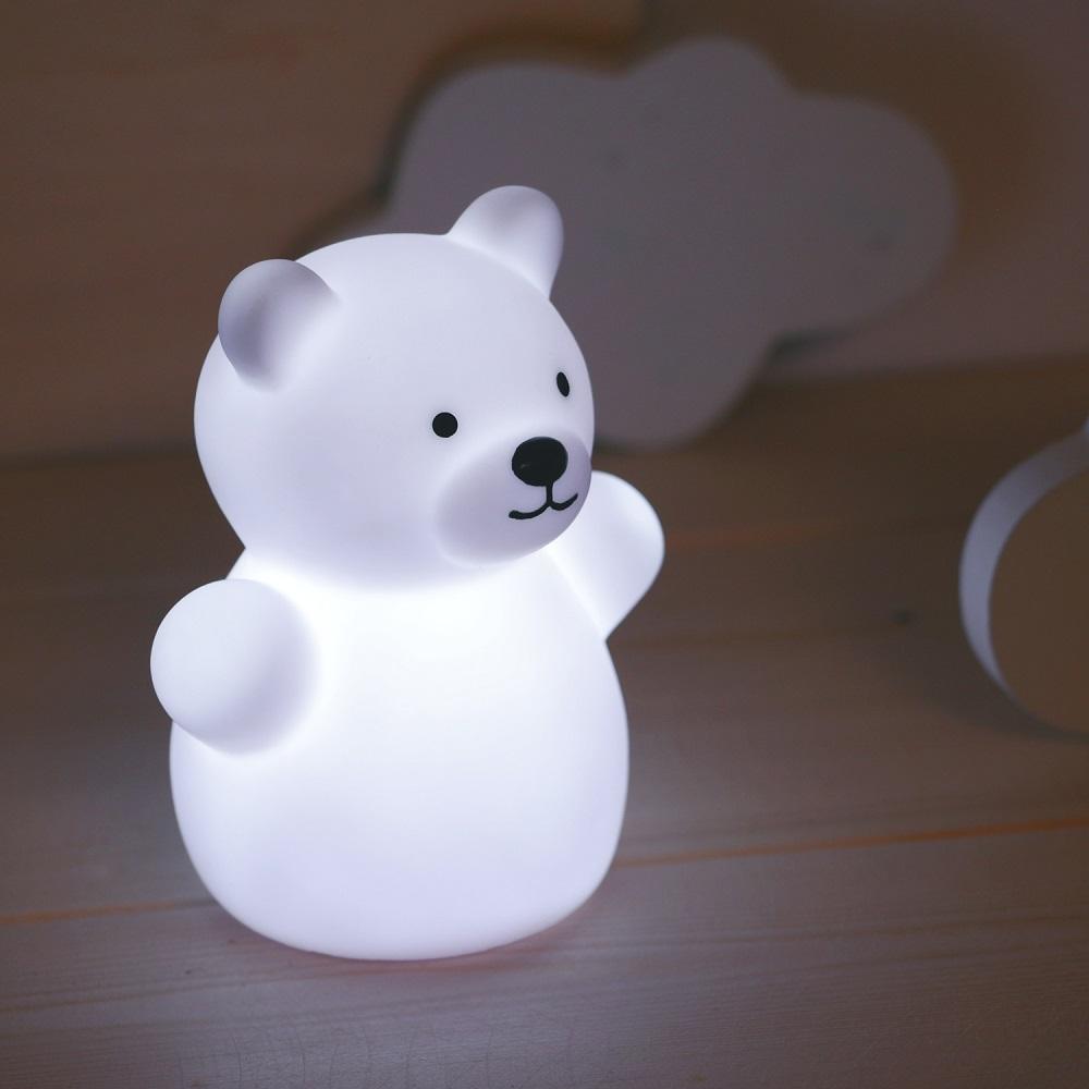 Natlampe til børn Mini Zoo Bear