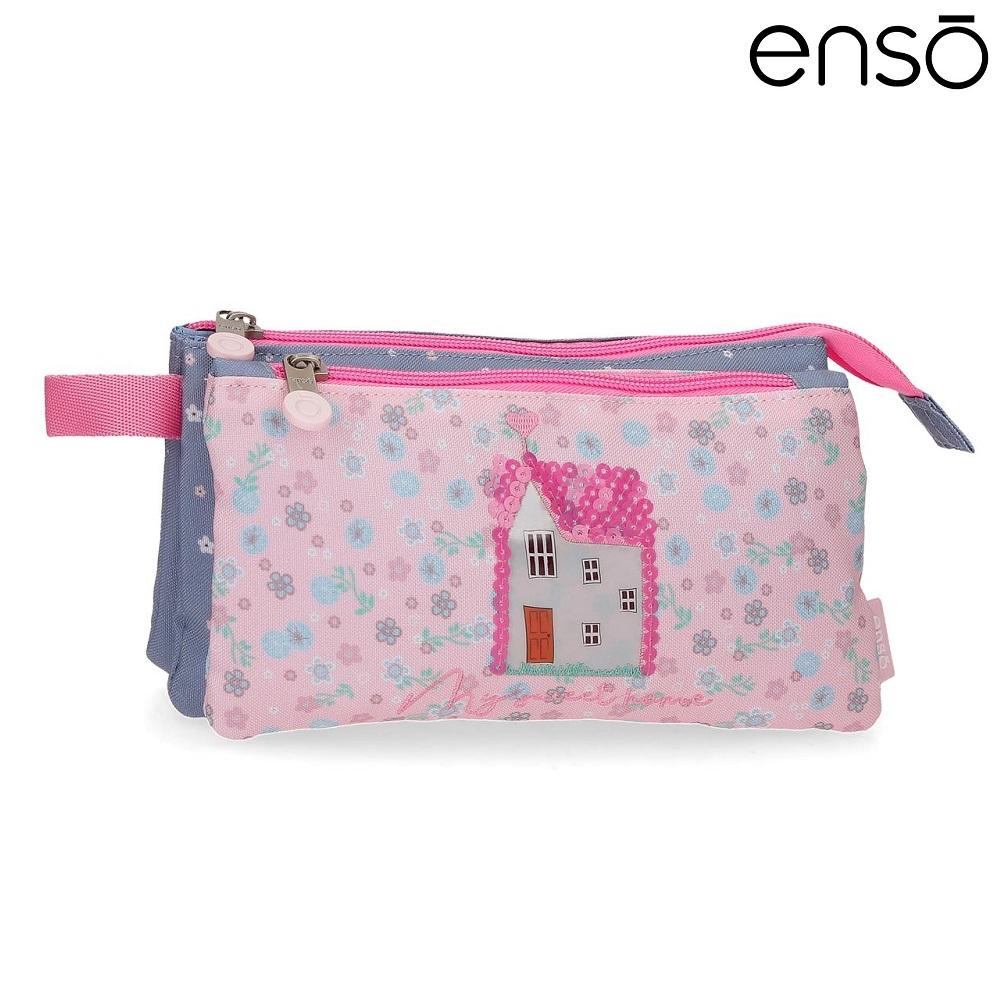 Toilettaske til børn Enso My Sweet Home