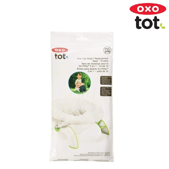 OXO tot Go Potty Refill Bags 10-pack