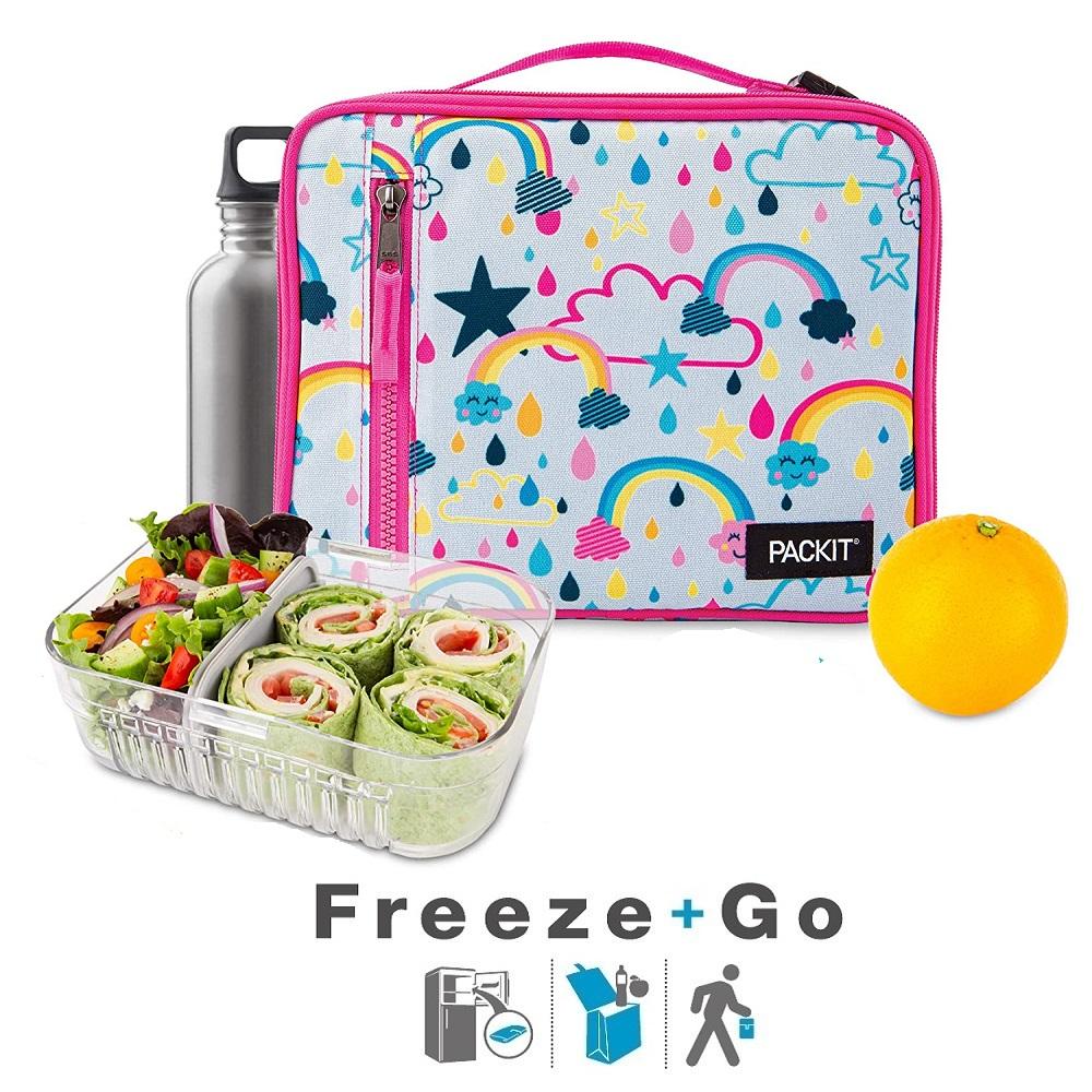 Lille køletaske til børn Packit Lunch Bag Rainbow Sky