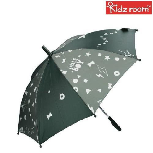 Paraply til børn Kidzroom Fearless Army grøn