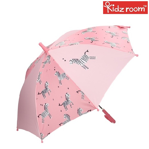 Paraply til børn Kidzroom Zebra lyserød