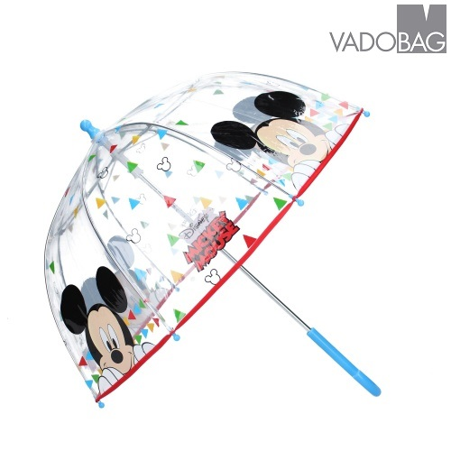 Paraply til børn Mickey Mouse