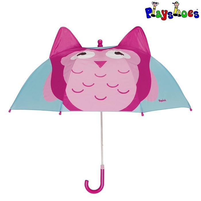 Paraply til børn Playshoes Ugle