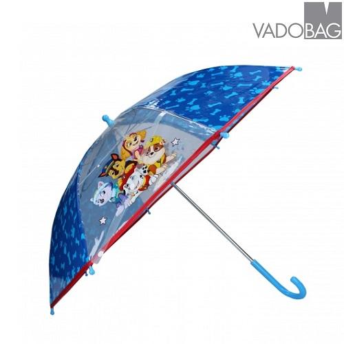 Paraply til børn Paw Patrol blå