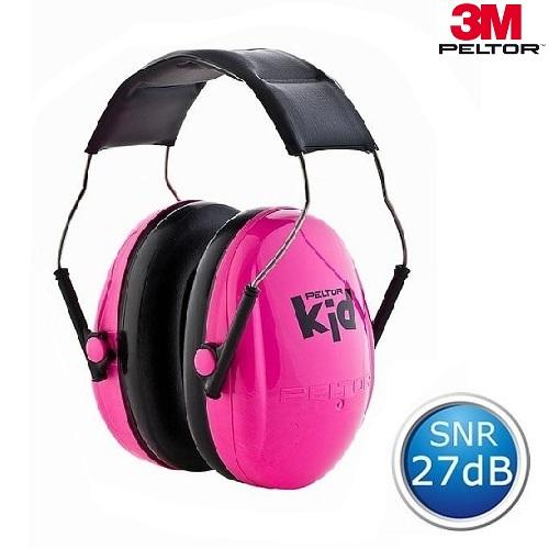 Høreværn til børn og baby 3M Peltor Kid lyserød