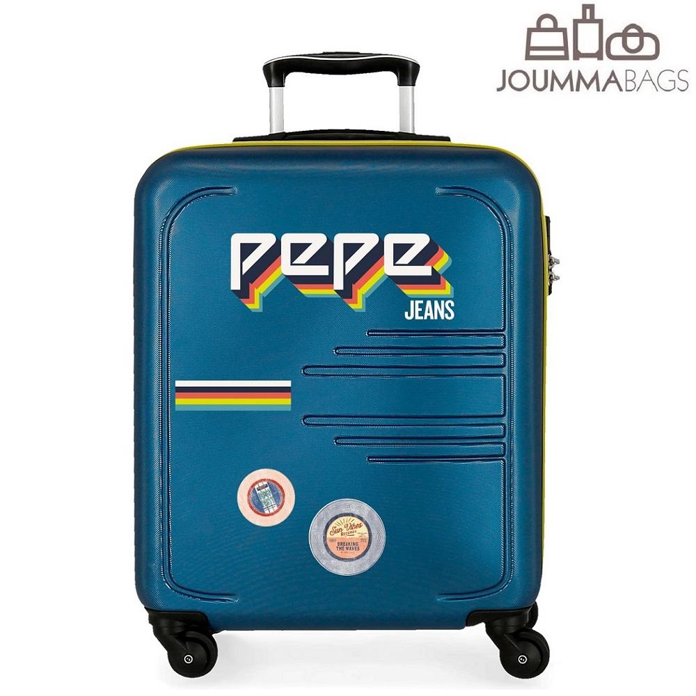 Kuffert til børn Pepe Jeans Edison blå