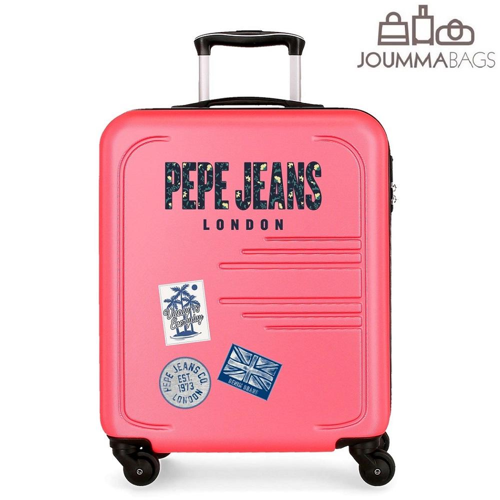Kuffert til børn Pepe Jeans Edison lyserød
