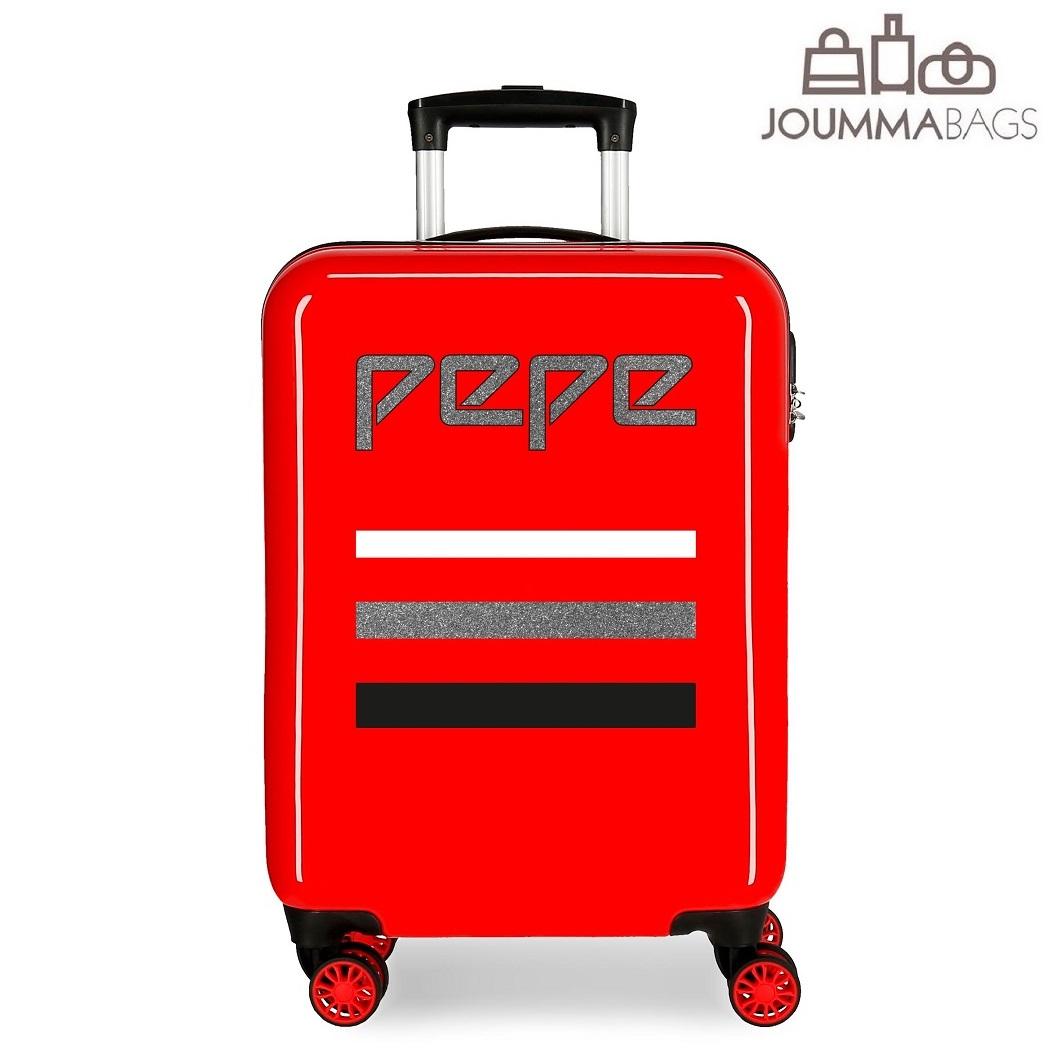 Kuffert til børn Pepe Jeans World blå