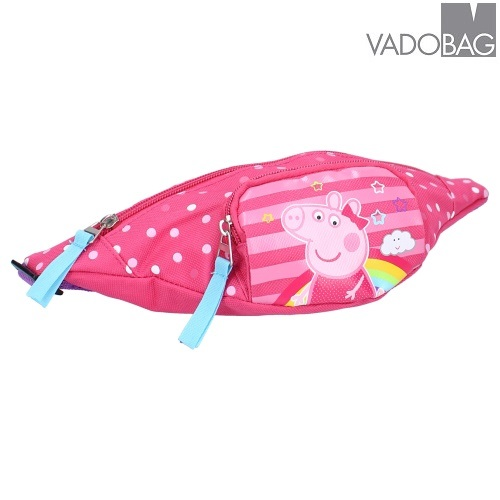 Bæltetaske til børn Peppa Pig Aspire to Inspire lyserød
