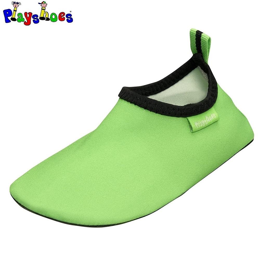 Badesko til børn Playshoes Uni Slip-on grøn