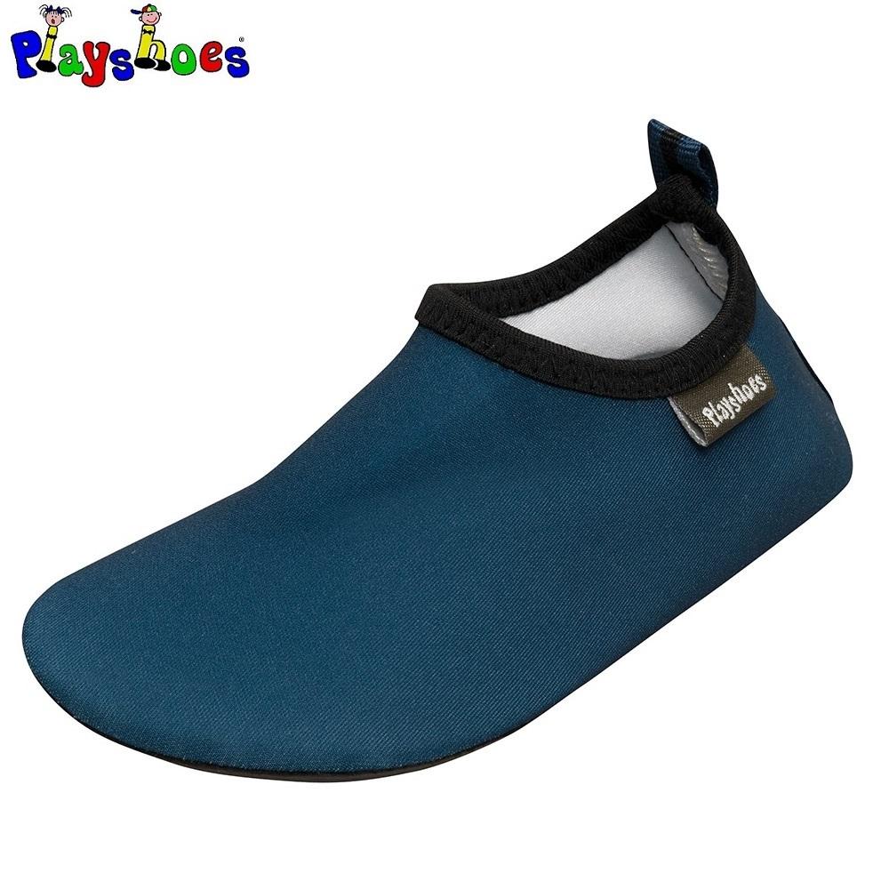 Badesko til børn Playshoes Uni Slip-on blå