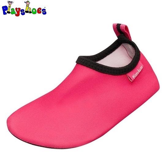 Badesko til børn Playshoes Uni Slip-on lyserød