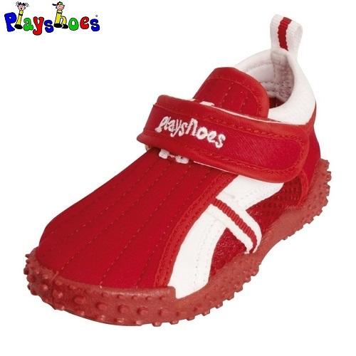 Badesko til børn Playshoes rød