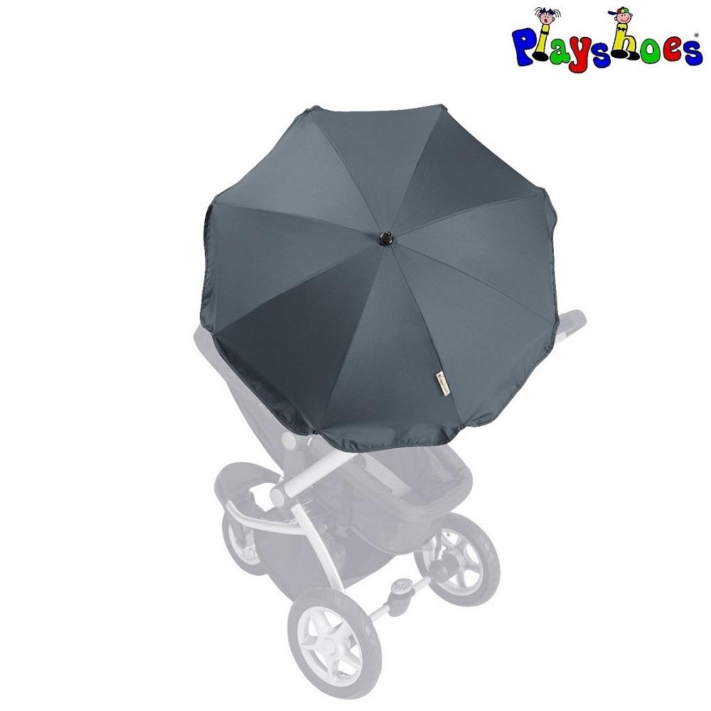 Parasol til barnevogn Playshoes mørkeblå