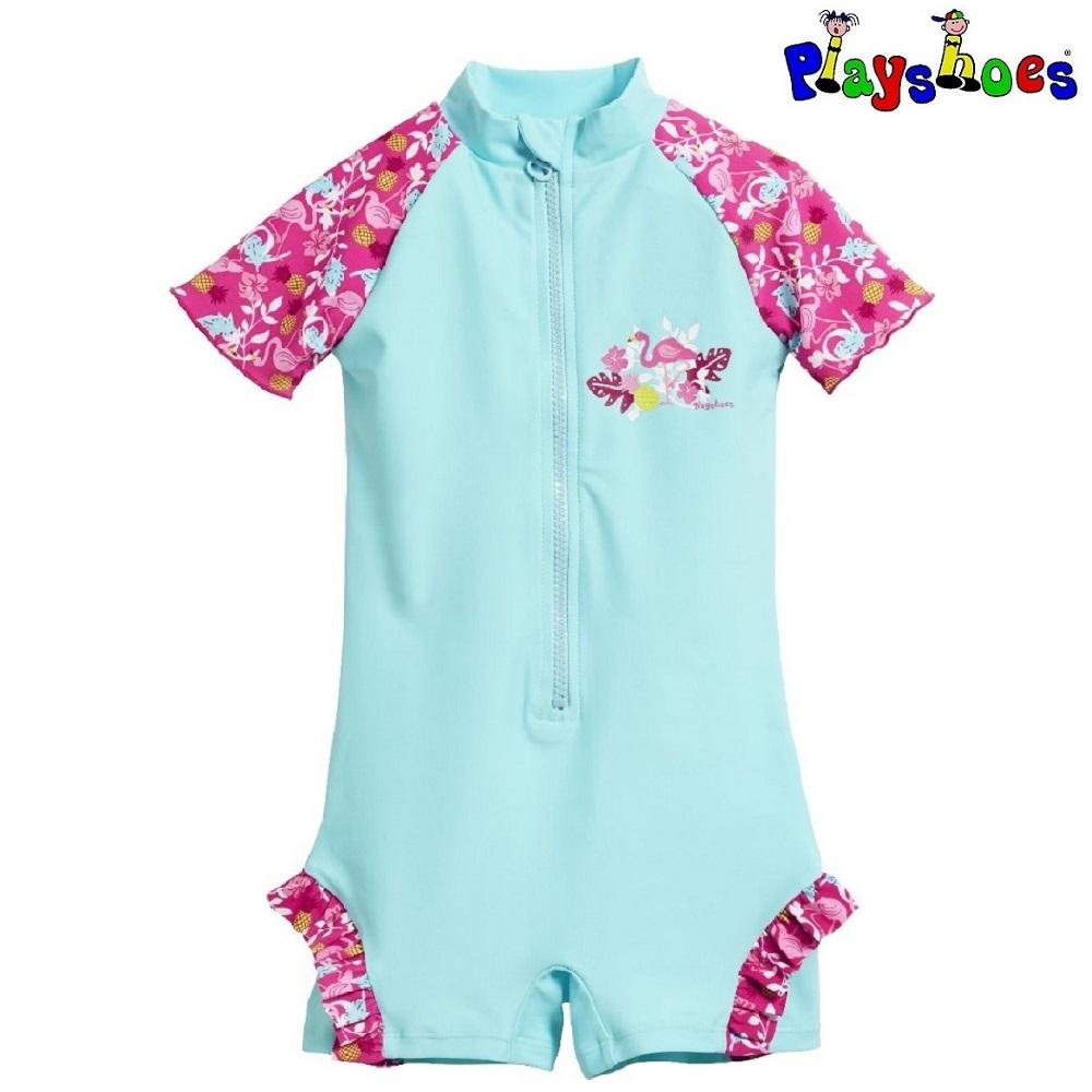 UV dragt til børn Playshoes Flamingo