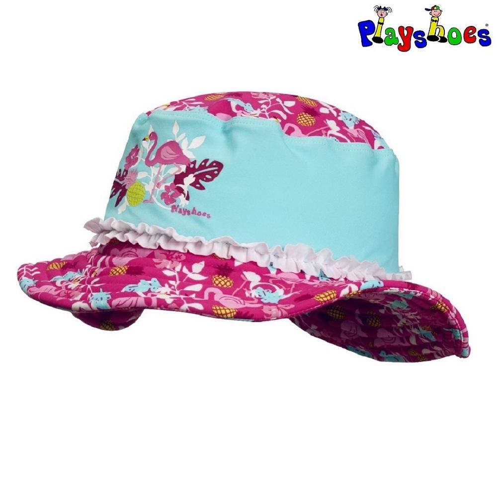 UV solhat til børn Playshoes Flamingo