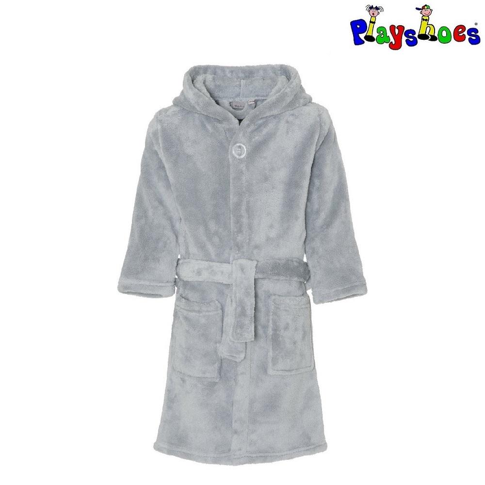 Badekåbe til børn Playshoes grå