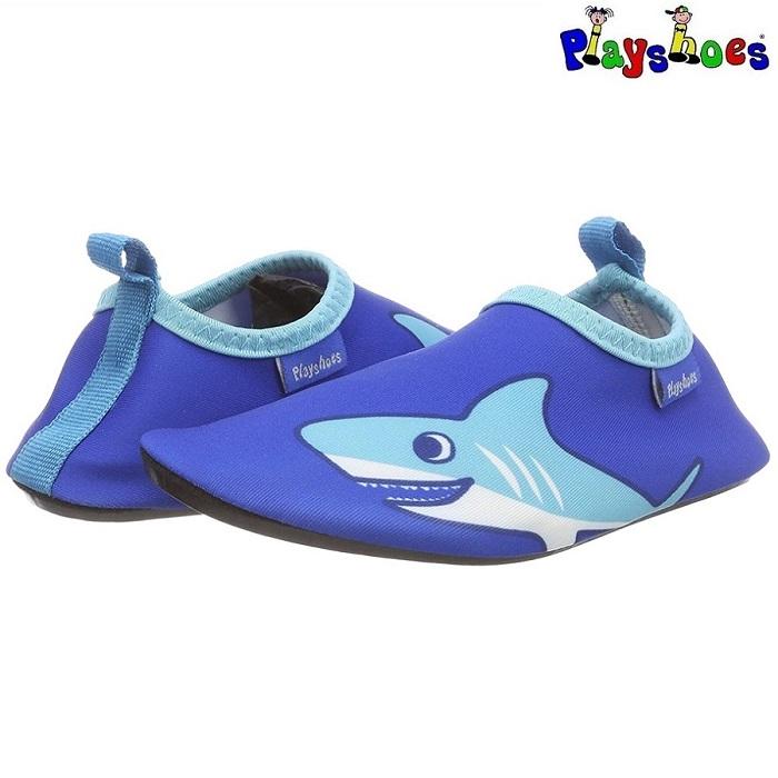 Badesko til børn Playshoes Shark