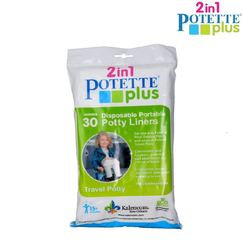 Engangsposer Potette Plus Refill bags 30-pack