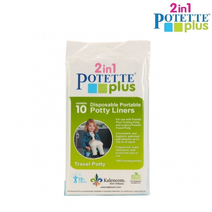 Engangsposer Potette Plus Refill bags 10-pack