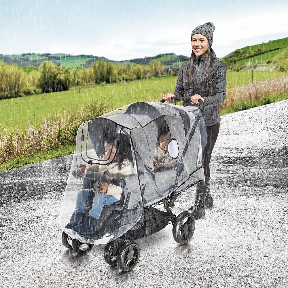 Regnslag til barnevogn Reer RainCover Duo
