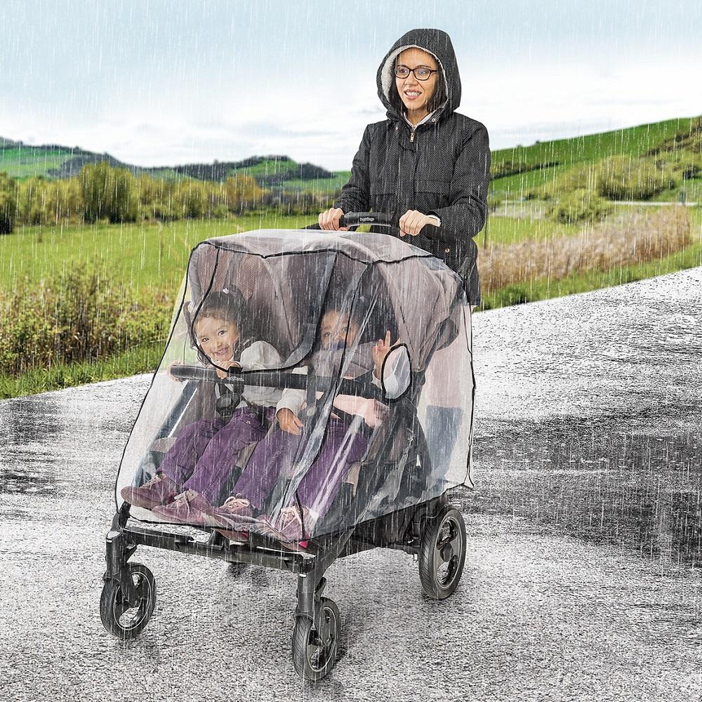 Regnslag til barnevogn Reer RainCover Twin