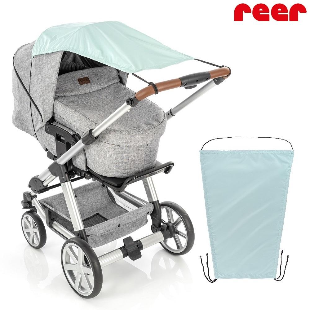 Solskærm til barnevogn Reer ShineSafe mint