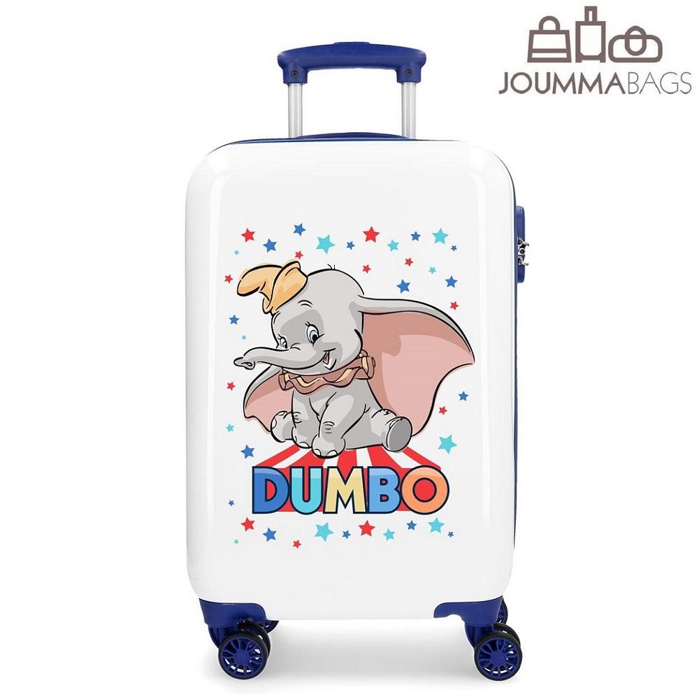 Børnekuffert Dumbo hvid