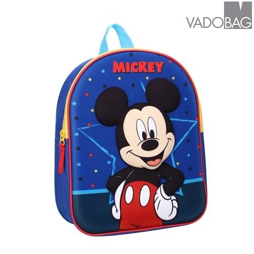 Rygsæk til børn Mickey Mouse Strong Together 3D blå