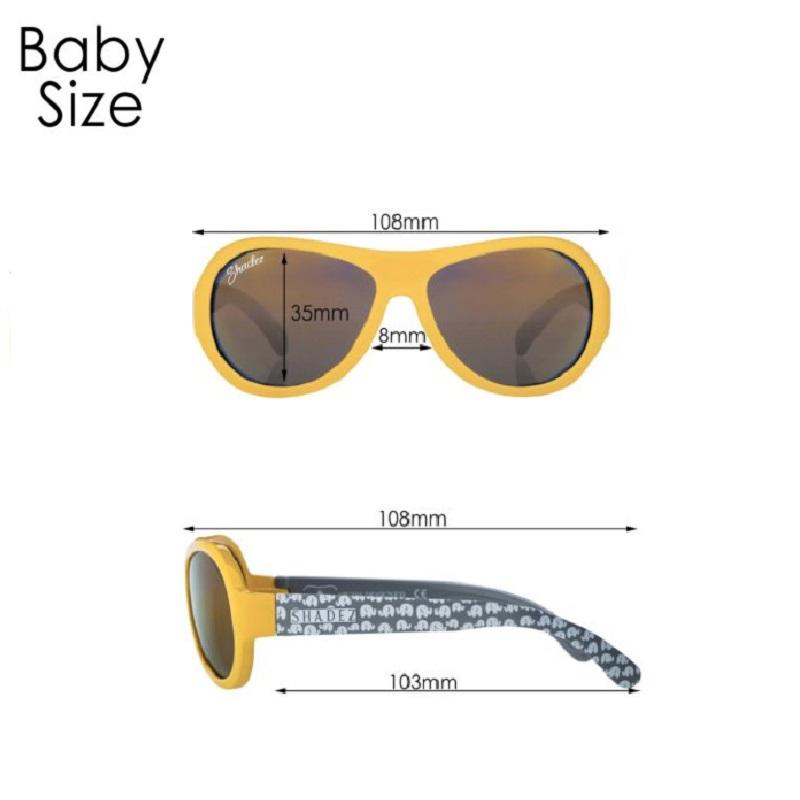 Solbriller baby Shadez måle
