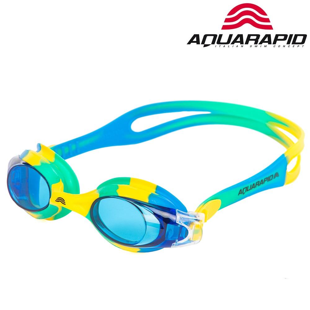 Svømmebriller til børn Aquarapid Multi blå