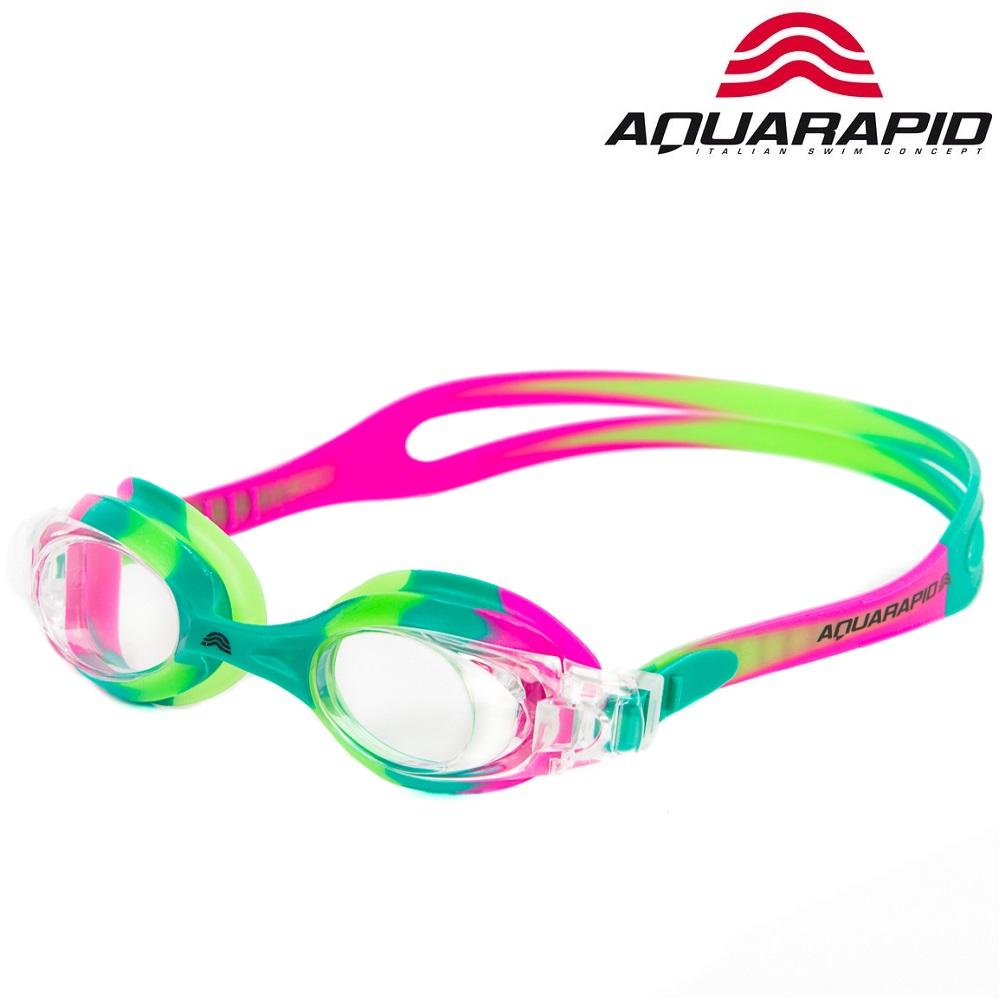 Svømmebriller til børn Aquarapid Multi lyserød