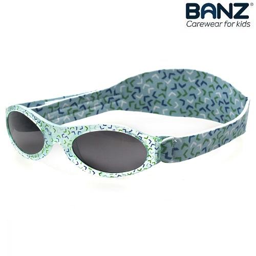 Solbriller til baby BabyBanz Green Confetti