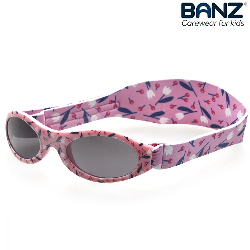 Solbriller til baby BabyBanz Petite Cherry
