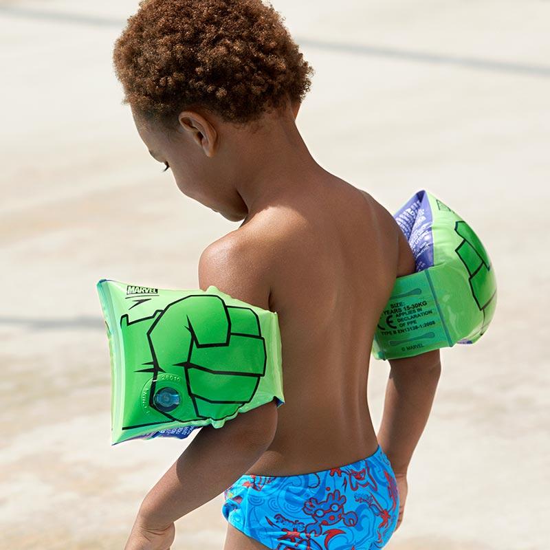 Svømmervinger Speedo The Hulk grøn
