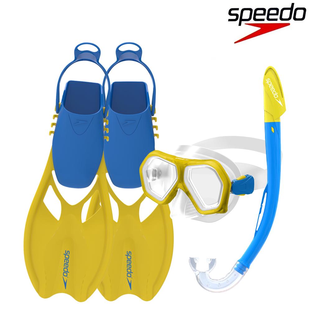 Junior Scuba Set til børn Speedo gul og blå