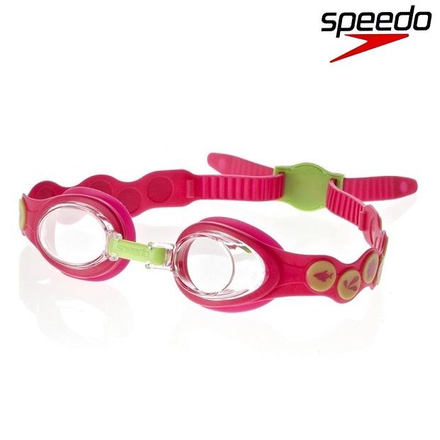 Svømmebriller børn Speedo Sea Squad 2-6 år lyserød