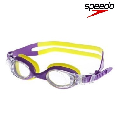 Svømmebriller børn Speedo Skoogle 2-6 år gul og lilla