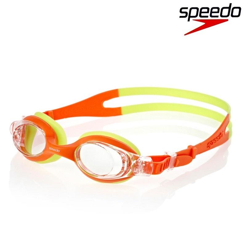 Svømmebriller børn Speedo Skoogle 2-6 år gul og orange