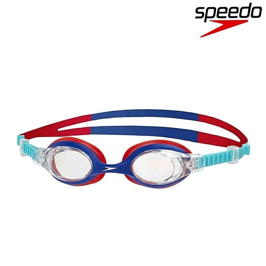 Svømmebriller børn Speedo Skoogle 2-6 år blå og rød
