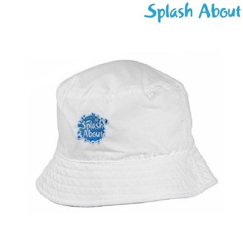 Solhat til børn SplashAbout Bucket Hvid