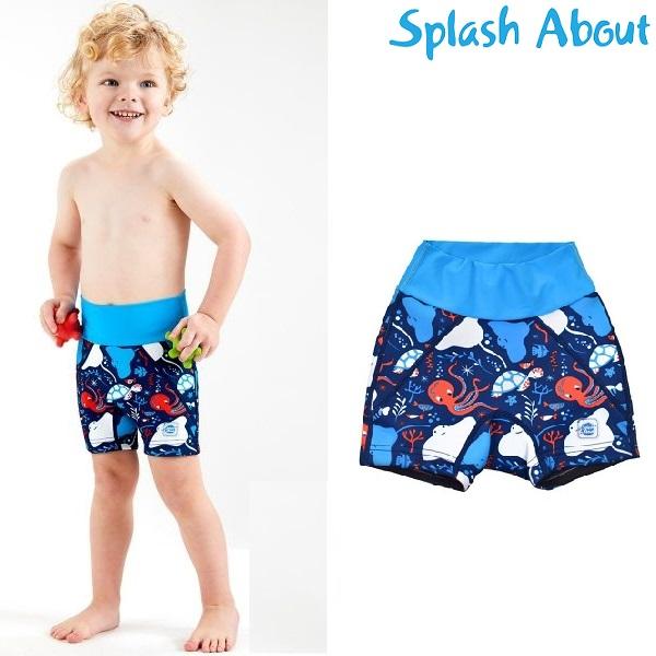 Blebadebukser til børn SplashAbout Splash Jammers Under the Sea