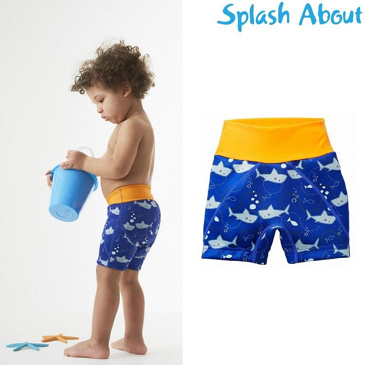 Blebadebukser til børn SplashAbout Splash Jammers Shark