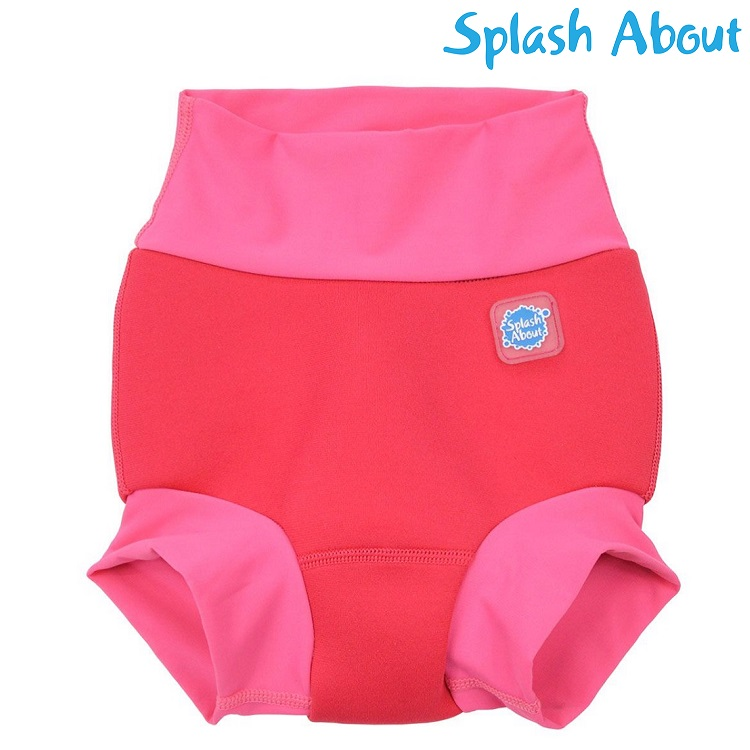 Badeble SplashAbout Happy Nappy Pink Geranium