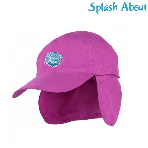 Solhat til børn SplashAbout lyserød