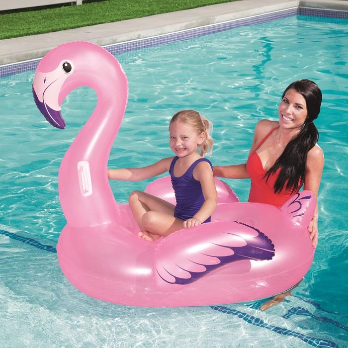 Oppustelig legetøj til pool Bestway flamingo XL