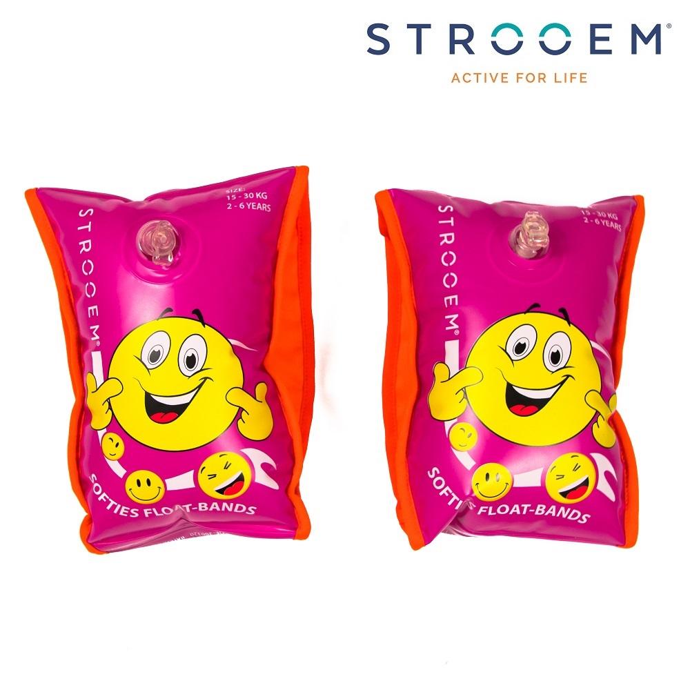 Armpuffar Strooem Softies rosa