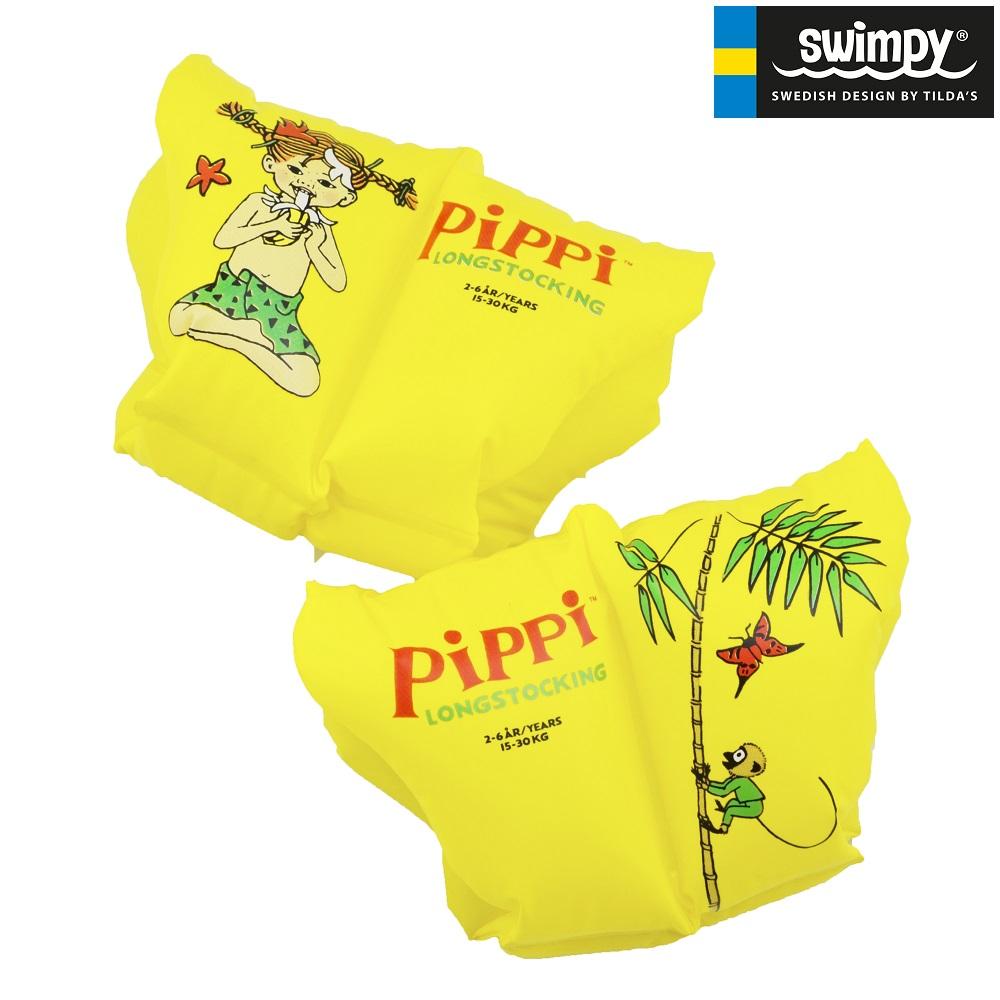 Svømmevinger til børn Pippi Langstrømpe 2-6 år